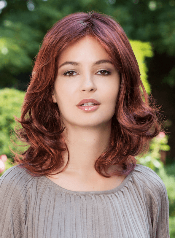 Amelia Mono Lace wig - Gisela Mayer - Front View