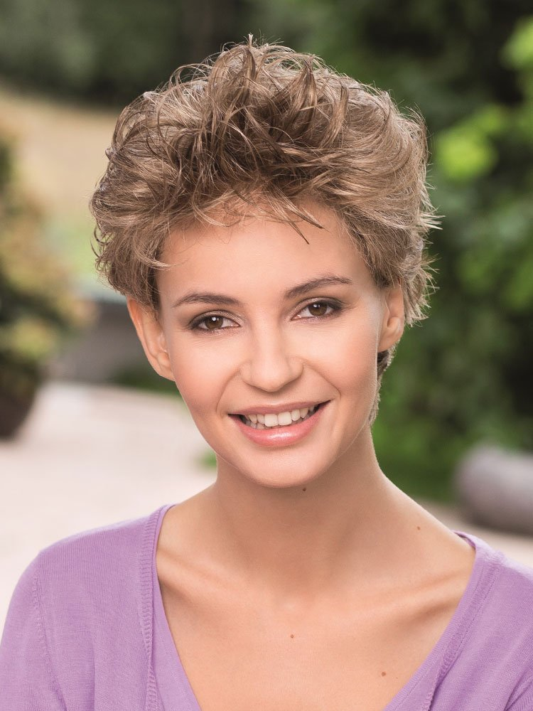 Platin Mono Lace wig - Gisela Mayer
