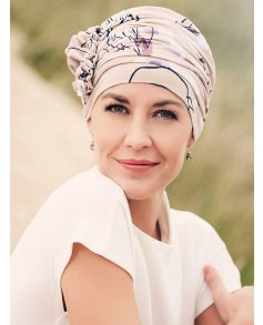 1008 Lotus Turban Printed - Christine Headwear