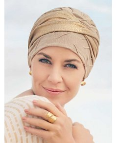 1350 Linen Cari Turban - Christine Headwear