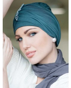 Iris Bamboo Turban - Masumi Headwear
