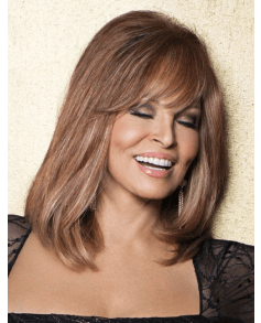 Special Effect Human Hair Top Piece - Raquel Welch