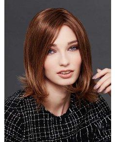 Silver Human Hair wig - Gisela Mayer