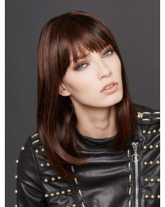 Long Page Human Hair wig - Gisela Mayer