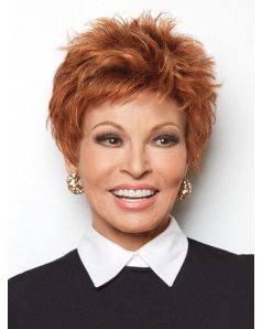 Power wig - Raquel Welch - Front View - Glazed Fire