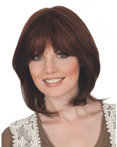 Tropical Mono Lace Human Hair wig - Gisela Mayer - Font View