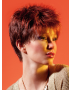 Net wig - Ellen Wille Perucci Collection - Side View