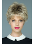 Lizzy wig - Rene of Paris Hi-Fashion - Front View - Colour Creamy Toffee Rooted