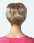 Rosie wig - Amore Rene of Paris - Back View shown in colour Frosti Blonde