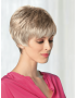 Rosie wig - Amore Rene of Paris - Front View shown in colour Frosti Blonde