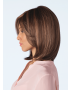Samantha wig - Amore Rene of Paris - Side View in colour Auburn Sugar