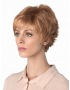 Tova wig - Amore Rene of Paris - Side View in colour Apricot Frost