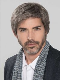 Hanno Human Hair Toupee - HAIRforMANce Collection
