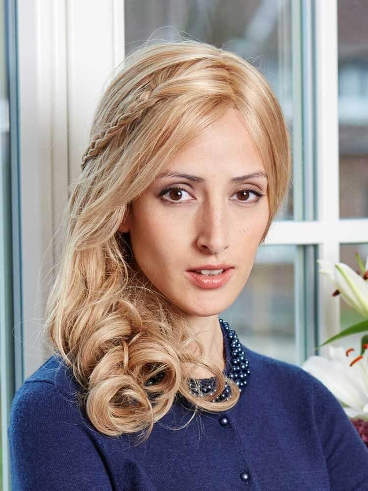 Luxury Lace F Human Hair wig - Gisela Mayer