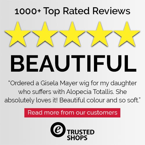 Trusted Shops Customer 5 Star Review for Joseph's Wigs' Gisela Mayer Wigs