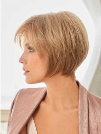 Audrey wig - Rene of Paris Hi-Fashion - Front View - Colour Vanilla Bean