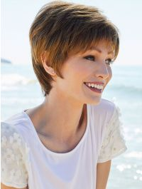 Connie wig - Amore Rene of Paris - Marble Brown
