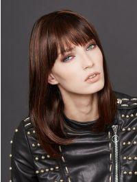 Long Page Human Hair wig - Gisela Mayer