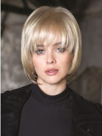 Shannon wig - Rene of Paris Hi-Fashion - Front View - Colour Light Chocolate