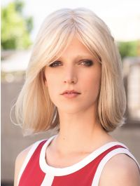 Long Page Mono Lace Deluxe wig - Gisela Mayer