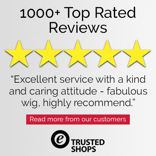 Trusted Shops Customer 5 Star Review for Joseph's Wigs' Ellen Wille Wigs