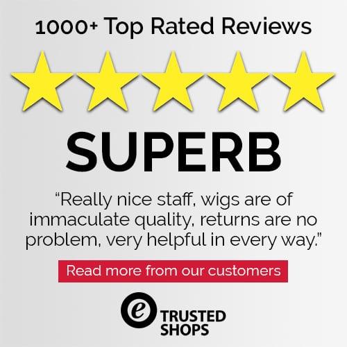 Trusted Shops Customer 5 Star Review for Joseph's Wigs' Jon Renau Wigs