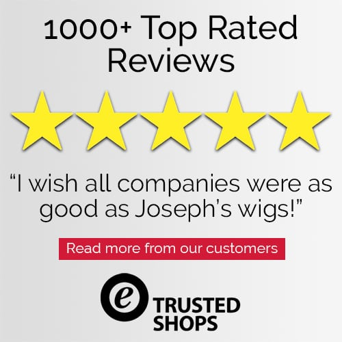 Trusted Shops Customer 5 Star Review for Joseph's Wigs' Ladies Wigs
