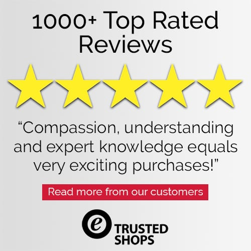 Trusted Shops Customer 5 Star Review for Joseph's Wigs' Noriko Wigs