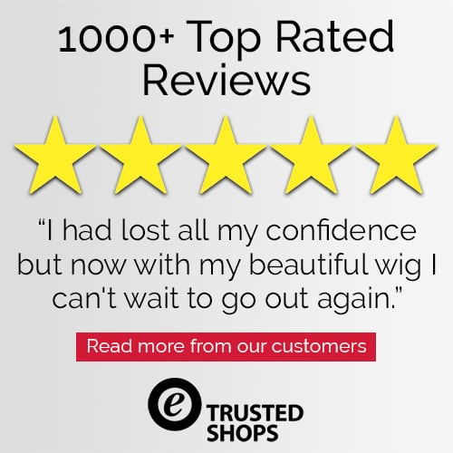 Trusted Shops Customer 5 Star Review for Joseph's Wigs' Synthetic Wigs