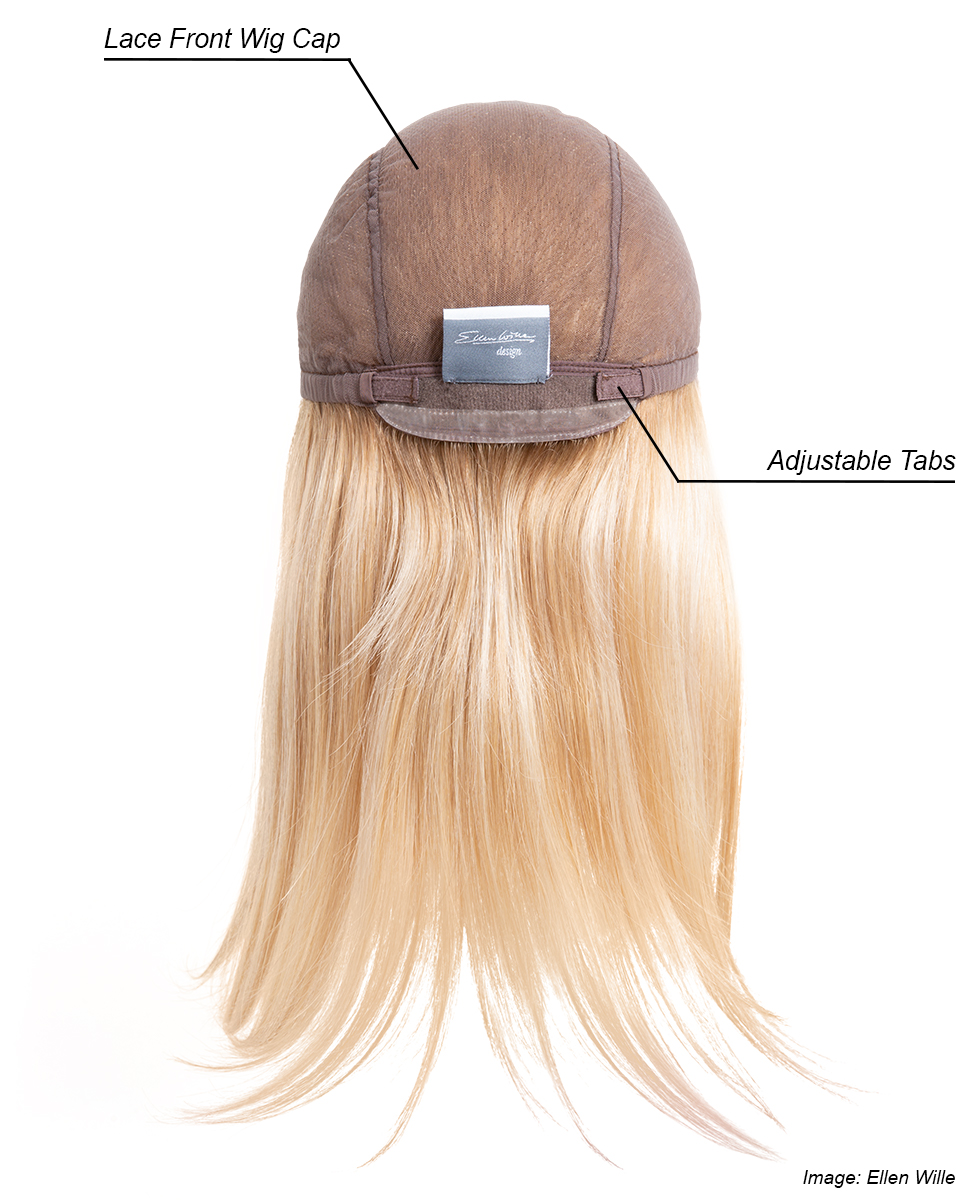 Lace Front cap construction Ellen Wille Emotion Wig